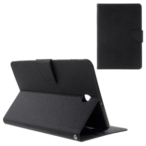 MERCURY GOOSPERY Leather Stand Case for Samsung Galaxy Tab S2 8.0 T710 T715 - Black