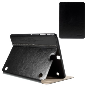 KAKUSIGA Slim Smart Leather Case for Samsung Galaxy Tab S2 9.7 T810 T815 - Black