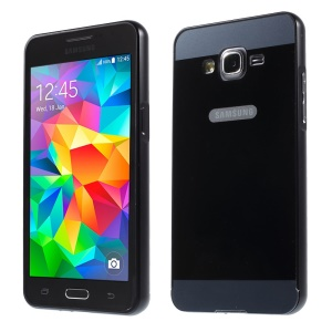 Metal Frame and PC Back Plate for Samsung Galaxy Grand Prime SM-G530H - Black