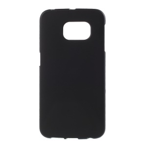 Rubberized Hard Case for Samsung Galaxy S6 Edge G925 - Black