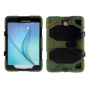 PC Silicone Shell for Samsung Galaxy Tab A 8.0 SM-T350 - Camouflage