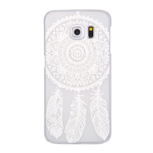 Patterned Translucent PC Hard Cover for Samsung Galaxy S6 edge G925 - Dream Catcher