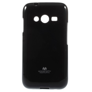 Black Mercury GOOSPERY Glitter Powder Jelly TPU Case for Samsung Galaxy Ace NXT G313H / Ace 4 LTE G313F