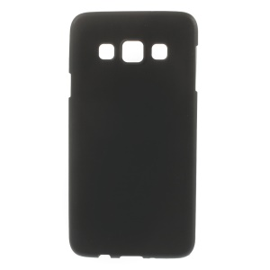 Frosted Soft TPU Case Cover for Samsung Galaxy A3 SM-A300F - Black
