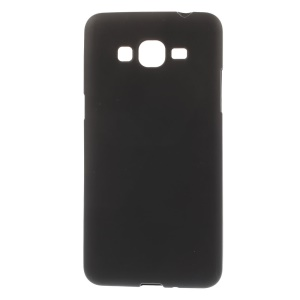 Matte TPU Skin Case for Samsung Galaxy Grand Prime SM-G530H - Black