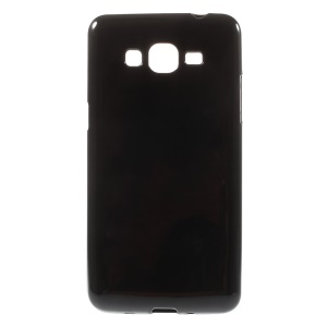 Solid Color Candy TPU Case for Samsung Galaxy Grand Prime SM-G530H - Black