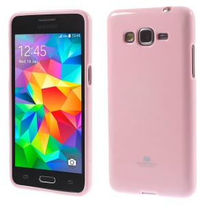 Mercury GOOSPERY for Samsung Galaxy Grand Prime SM-G530H Glittery Powder Jelly TPU Case Shell - Pink