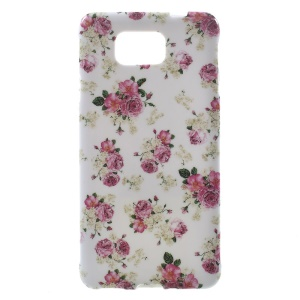 Rose Flowers for Samsung Galaxy Alpha SM-G850F SM-G850A Glossy TPU Case Shell