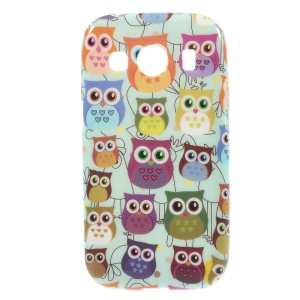 Glossy TPU Shell Case for Samsung Galaxy Ace Style LTE / Ace 4 G357FZ - Multiple Owls