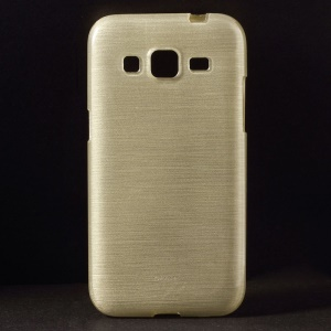 Brushed TPU Case Cover for Samsung Galaxy Core Prime G360 - Gold