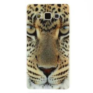 Cool Leopard Head for Samsung Galaxy A5 SM-A500F Glossy TPU Cover