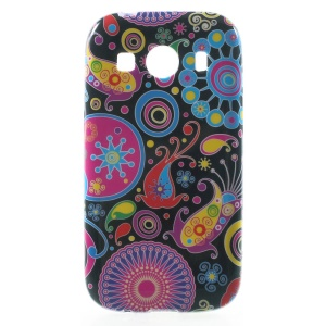 Glossy TPU Skin Case for Samsung Galaxy Ace Style LTE G357FZ / Ace 4 G357FZ - Paisley Flowers