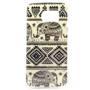 Elephant Tribe IMD TPU Cover for Samsung Galaxy S6 SM-G925 Edge