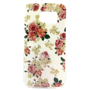 Fresh Flowers IMD TPU Case Cover for Samsung Galaxy S6 SM-G925 Edge