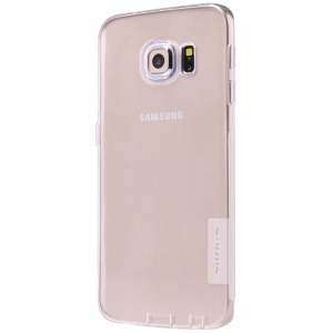 NILLKIN 0.6mm Nature TPU Shell Case for Samsung Galaxy S6 Edge G925 - White