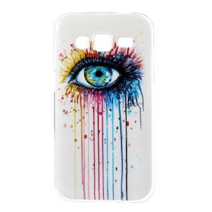 Glossy TPU Case Cover for Samsung Galaxy Core Prime G360 - Colorful Tattoo Eye