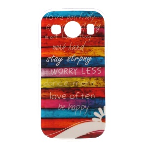 Colorful Stripes TPU Cover for Samsung Galaxy Ace 4 SM-G357FZ / Ace Style LTE G357