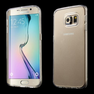 Transparent TPU Gel Case for Samsung Galaxy S6 Edge G925
