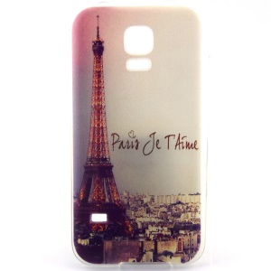 Eiffel Tower TPU Gel Case for Samsung Galaxy S5 G900 / S5 Neo G903F
