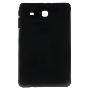 Soft TPU Case for Samsung Galaxy Tab E 9.6 T560 Glossy Outer Matte Inner - Black