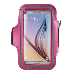 Running Jogging Sports Armband Cover for Samsung Galaxy S7 G930 /S6 /S6 Edge - Rose