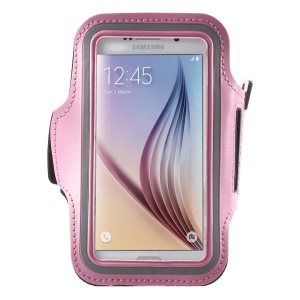 Gym Running Jogging Sports Armband Cover for Samsung Galaxy S7 G930 /S6 /S6 Edge - Pink