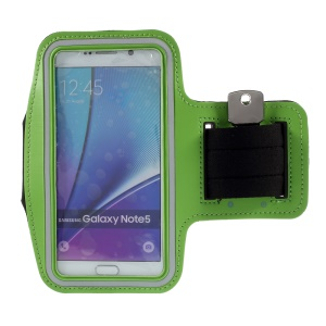Gym Sports Armband Pouch for Samsung Galaxy S7 edge/ S6 edge+ / Note 5 - Green