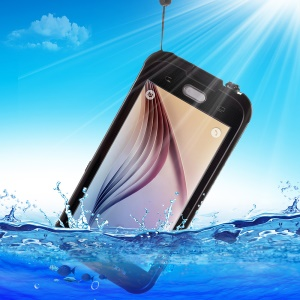 REDPEPPER Waterproof Protection Case for Samsung Galaxy S6 G920 - Black