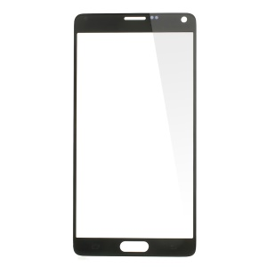Black Front Glass Lens Screen Cover for Samsung Galaxy Note 4 N910