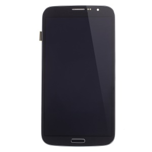 OEM LCD Screen and Digitizer Assembly for Samsung Galaxy Mega 6.3 I9200 I9205 with Front Housing - Black