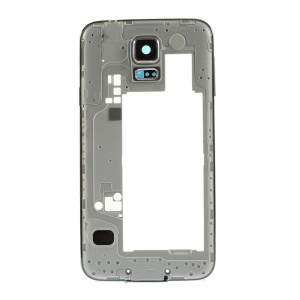 OEM Rear Housing Plate Replacement for Samsung Galaxy S5 G900 with Side Keys - Silver