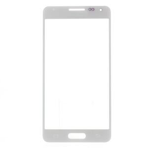 Front Screen Glass Lens for Samsung Galaxy Alpha SM-G850 - White