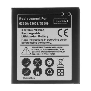 2300mAh Li-ion Battery for Samsung Galaxy Core Prime / G3608 / G3606 / G3609