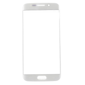 OEM Front Glass Lens Replacement Part for Samsung Galaxy S6 edge G925 - White