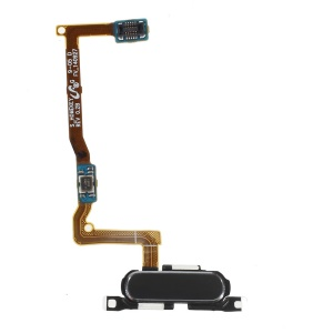 OEM Home Button with Flex Cable Repair Part for Samsung Galaxy Alpha SM-G850F - Black