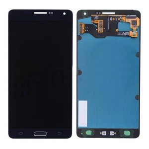 For Samsung Galaxy A7 SM-A700 LCD Screen and Digitizer Assembly with Home Button OEM - Black