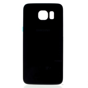 For Samsung Galaxy S6 G920 Battery Housing Cover with Adhesive Sticker - Black