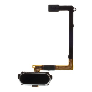 OEM Home Button with Flex Cable Repair Part for Samsung Galaxy S6 G920 - Black