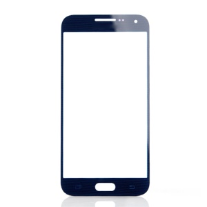 Front Screen Glass Lens Repair Part for Samsung Galaxy E5 - Black