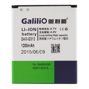 GALILIO 1200mAh Li-ion Battery for Samsung Galaxy Ace 4 LTE SM-G313F / Ace NXT SM-G313H