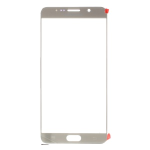 OEM Front Screen Glass Lens Repair Part for Samsung Galaxy Note 5 - Champagne