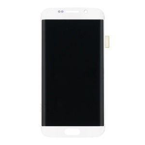 OEM LCD Screen and Digitizer Assembly for Samsung Galaxy S6 Edge G925 - White