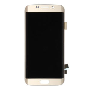 OEM LCD Screen and Digitizer Assembly for Samsung Galaxy S6 Edge G925 - Gold