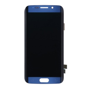 OEM LCD Screen and Digitizer Assembly for Samsung Galaxy S6 Edge G925 - Blue