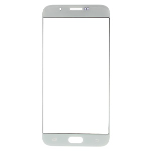 For Samsung Galaxy A8 SM-A800F Front Outer Screen Glass Lens Part - White