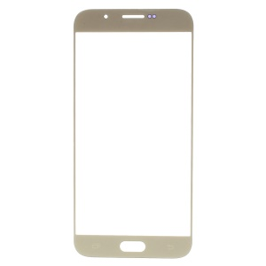 For Samsung Galaxy A8 SM-A800F Front Outer Screen Glass Lens Replacement - Gold
