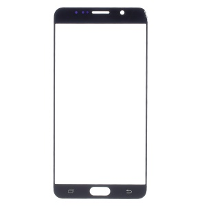 For Samsung Galaxy Note 5 N920 Front Screen Glass Lens Replacement - Black