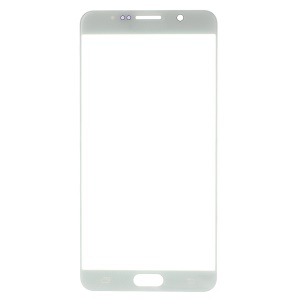 For Samsung Galaxy Note 5 N920 Front Screen Glass Lens Replace Part - White