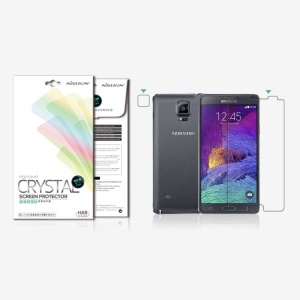 Nillkin Anti-fingerprint Ultra Clear LCD Screen Protector for Samsung Galaxy Note 4 N910 (Suit Edition)