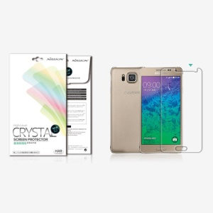 Nillkin Anti-fingerprint Ultra Clear LCD Screen Protector for Samsung Galaxy Alpha SM-G850F SM-G850A